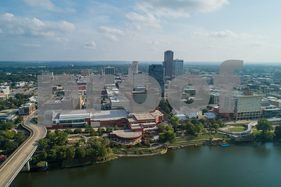Aerial photo Downtown LIttle Rock AK USA