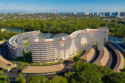 Aerial drone image Hillsboro Cove Condominium