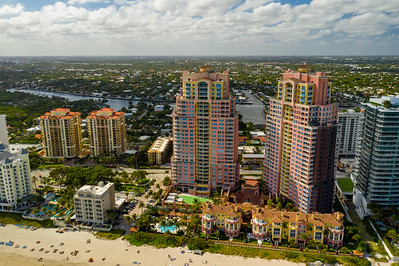 Aerials Fort Lauderdale FL USA The Palms Condominiums