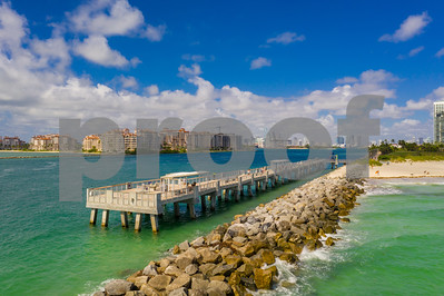 Aerial photo Miami Beach Pier