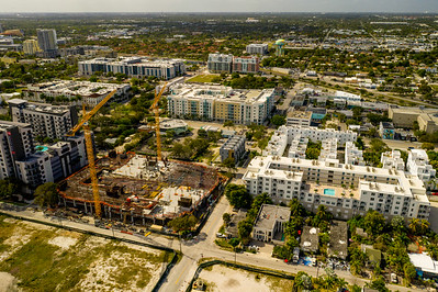 Aerial photo Fort Lauderdale highrise development