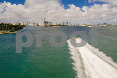 Speed boat Miami thriller