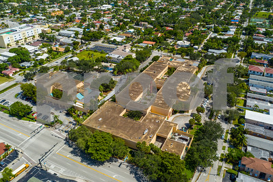 Aerial photo of Hollywood Central Elementary School