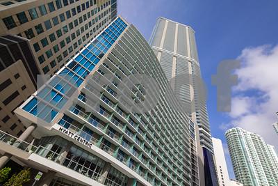 Hyatt Centric adjacent to the Panorama Tower Brickell