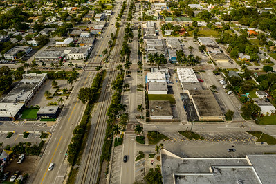 Downtown Oakland Park Florida USA
