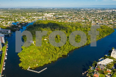 Aerial photo Deerfield Island Park