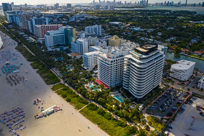 Faena Hotel and condominium residences Miami Beach FL