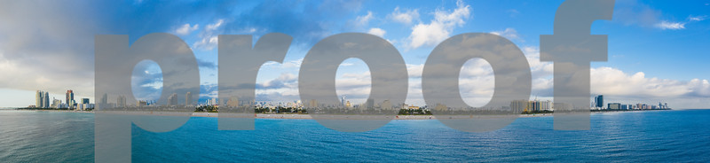 Epic Miami Beach panorama photo