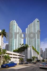 Ground photo of the Plaza at Brickell Miami FL