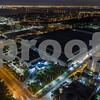 Miami Beach Convention Center aerial night image