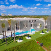 Boynton Beach Florida luxury beachfront homes and palm trees