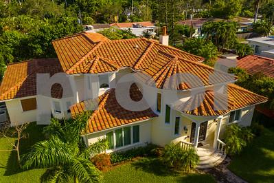 Aerial photo luxury Florida home