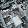 Aerial drone image of Brickell Miami FL USA
