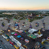 Aerial image Broward County Fair Hallandale FL