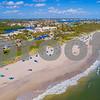 Aerial image Oceanfront Beach Park Boynton Florida