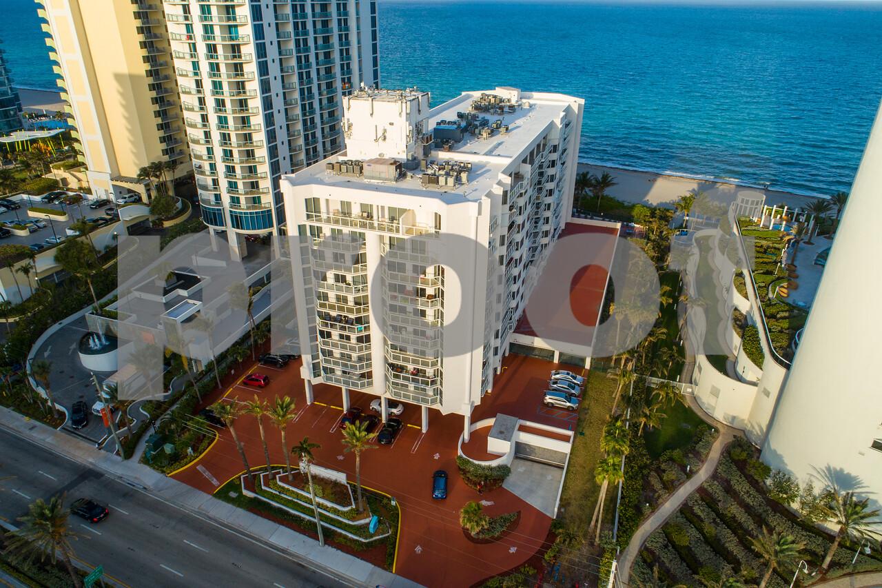 Aerial photo Florida Ocean Club Sunny Isles Beach