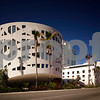 Long exposure image Miami Beach Faena House modern architecture