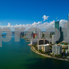Condominiums on Brickell Bay Drive Miami FL