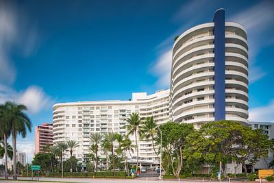 Deco architecture Miami Beach Seacoast Towers
