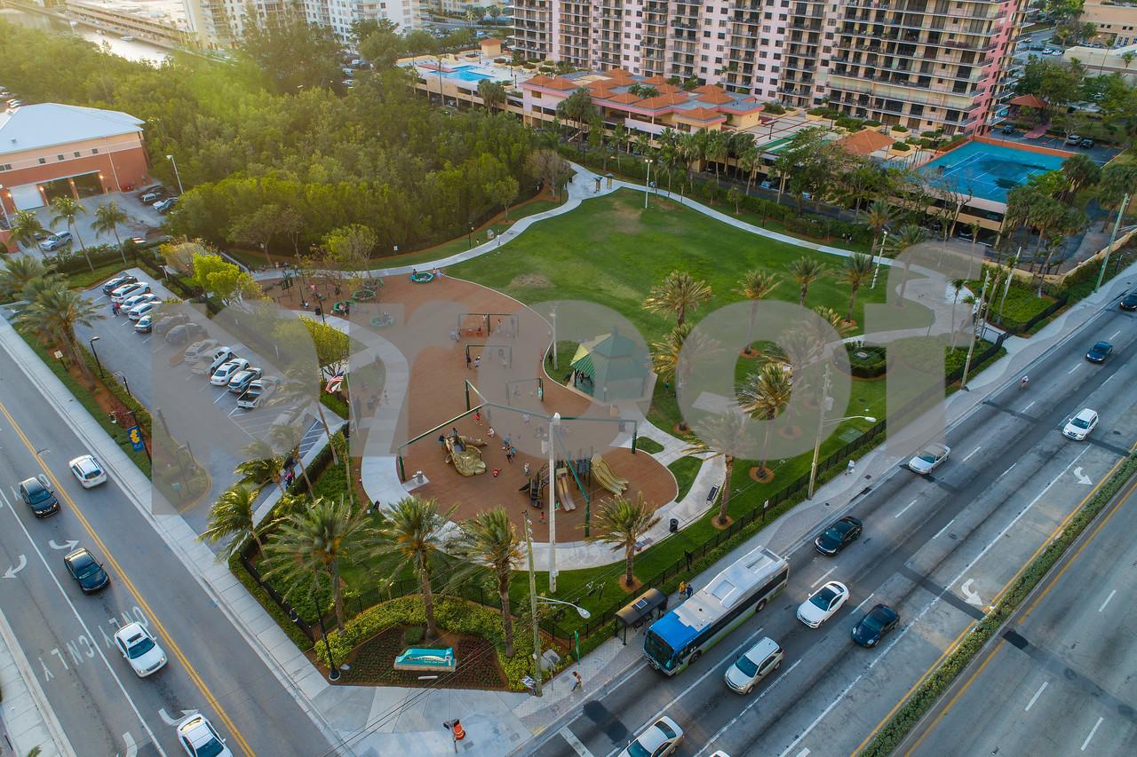 Town Center Park Sunny Isles Beach Florida