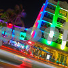 Clevelander Miami Beach at nigth