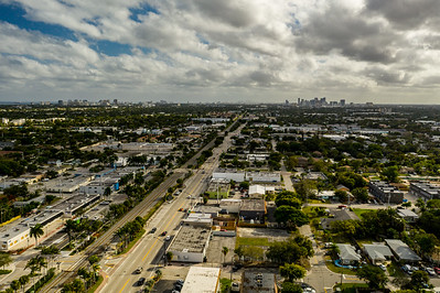 Aerial photo Oakland Park Florida