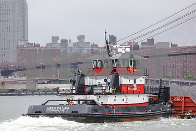 Image of the James William Chesapeake VA tugboat in New York
