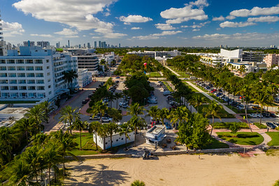 Miami Beach Collins Park travel destination