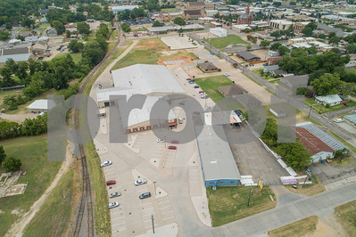 Aerial image of Sulphur Springs Texas industrial district