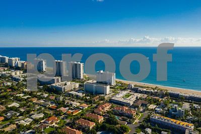 Drone photography real estate Deerfield Beach Florida USA