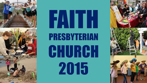 2015 Faith Church Annual Meeting Slideshow