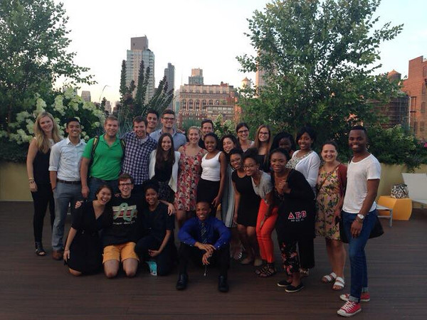 The 2015 IRTS Summer Fellows enjoyed some spectacular rooftop views at the Spotify offices.