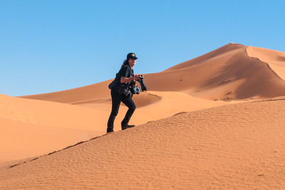 A dune in Morocco