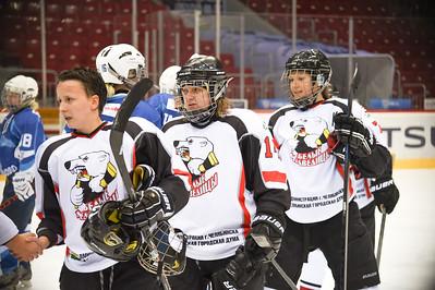 Челябинская женская команда Белые медведицы поделила очки в играх против подмосковной Кометы.