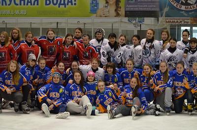 Первенство России по хоккею среди молодежных  женских команд до 18 лет в сезоне 2014-2015. Итоги