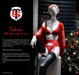 Toulouse Ville des rouge et noir