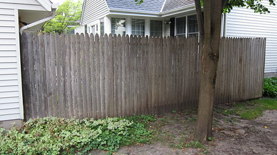 Fence and other Home Projects - 2011