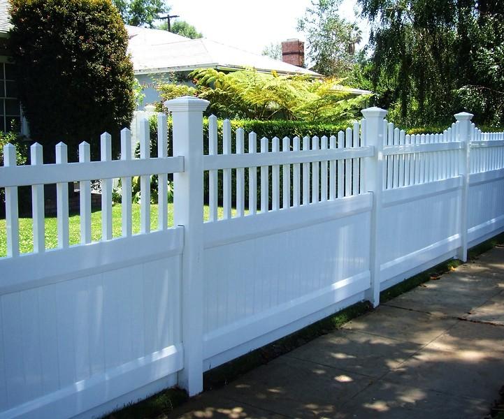 Classic Vinyl Fence