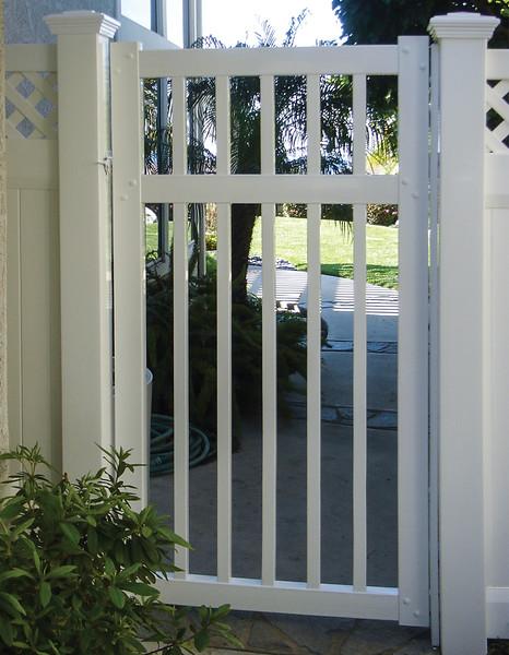 Perimeter Gate 6' h x 8' w