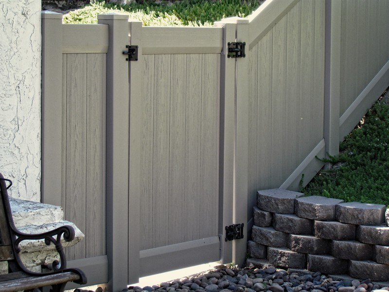Full Privacy DuraGrain Gate