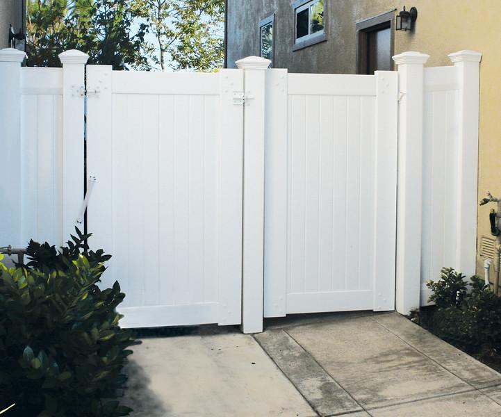 """Full Privacy 12"""" Gate"""