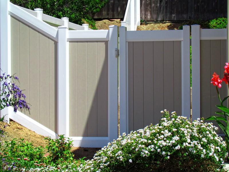 2 Tone Full Privacy Gate