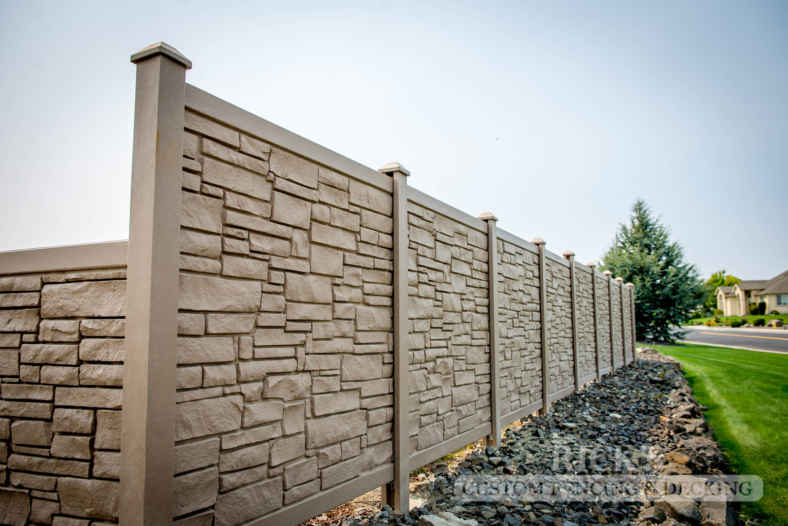 4015 - Allegheny Simulated Rock Fencing