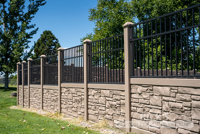 4045 - Allegheny Simulated Rock Fencing
