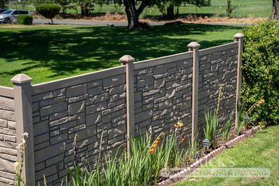 4043 - Allegheny Simulated Rock Fencing