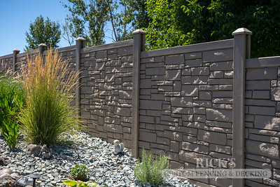 4044 - Allegheny Simulated Rock Fencing