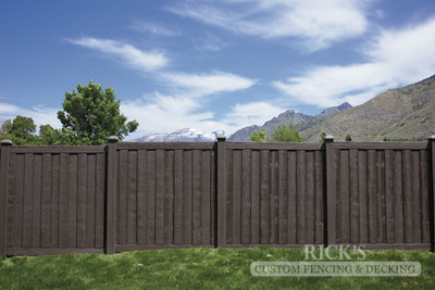 4026 - Sherwood Simulated Wood Panel Fencing