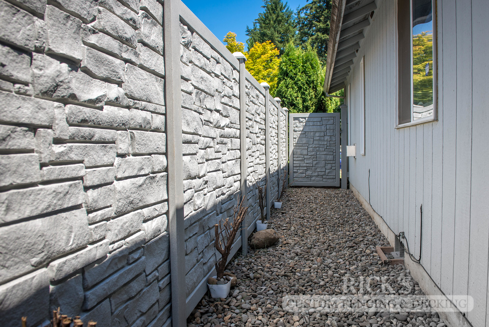 4005 - Allegheny Simulated Rock Fencing