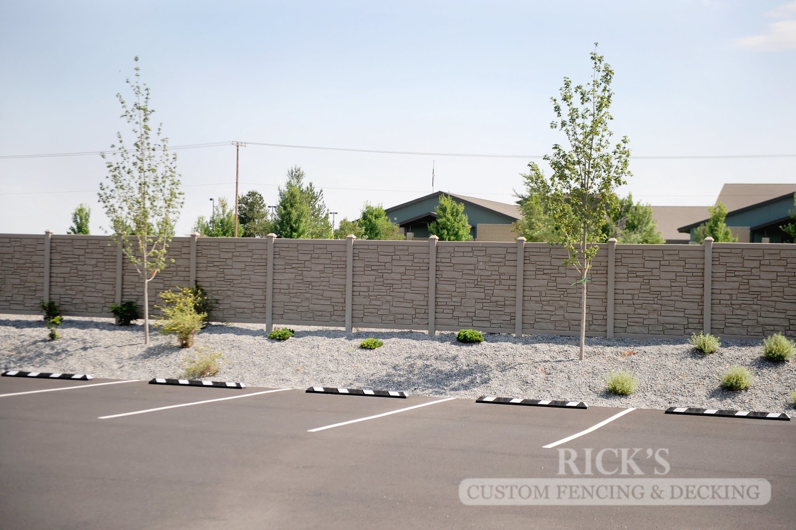 4027 - Allegheny Simulated Rock Fencing
