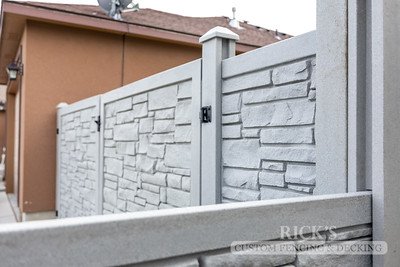 4036 - Allegheny Simulated Rock Fencing
